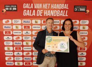 HC Heist viert promotie naar Vlaams niveau en bekroning jeugdwerking tijdens Stuif-In